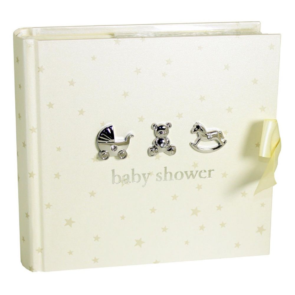 Posh Baby Gifts Uk : Baby shower gift idea cream and silver photo